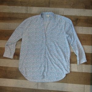 GAP V Neck Blouse